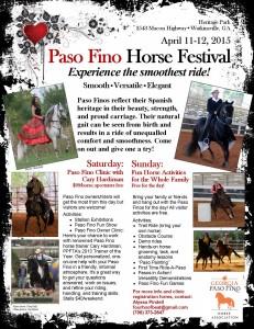 Paso Fino Horse Festival 2015